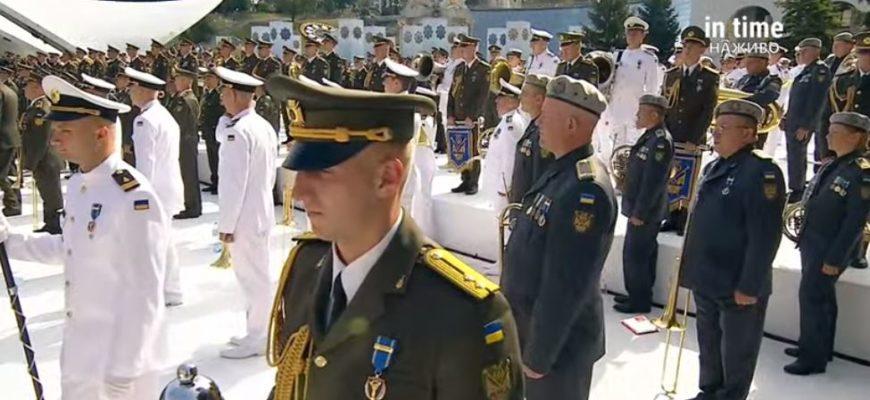 Парад в Киеве ко Дню независимости 2021